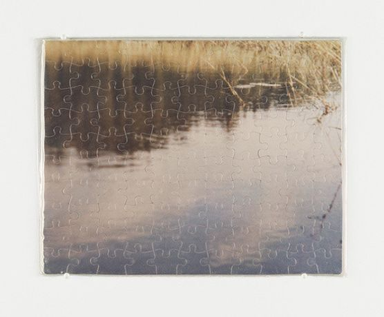 Untitled (Wawannaisa), 1991 C-print jigsaw puzzle in plastic bag 7 1/2 x 9 1/2 in  © The Felix Gonzalez-Torres Foundation Courtesy of Andrea Rosen Gallery, New York
