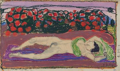 FERDINAND HODLER, The Desire | c. 1906 © Leopold, Private Collection