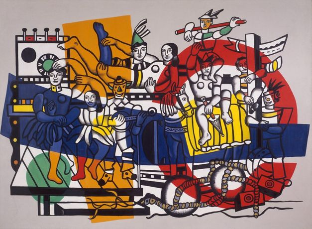 Fernand Léger, The Great Parade (definitive state) (La grande parade [état définitif]), 1954. Oil on canvas, 299.1 x 400.1 cm. Solomon R. Guggenheim Museum, New York, 62.1619. © 2017 Artists Rights Society (ARS), New York/ADAGP, Paris