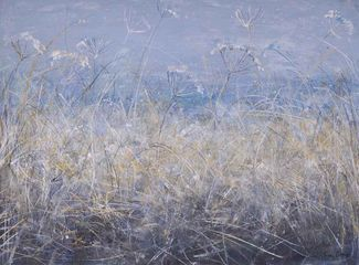 Ann Oram, Frosted Grasses & Seedheads