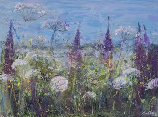 Ann Oram, Cow Parsley & Willowherb