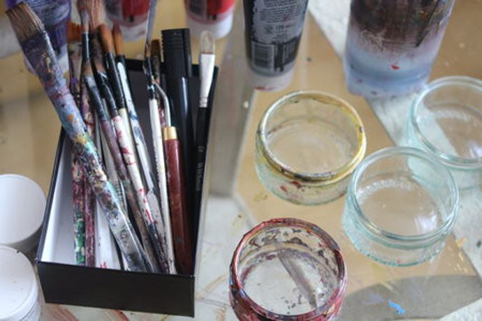 Fierce Painting: Adult Intro Workshop