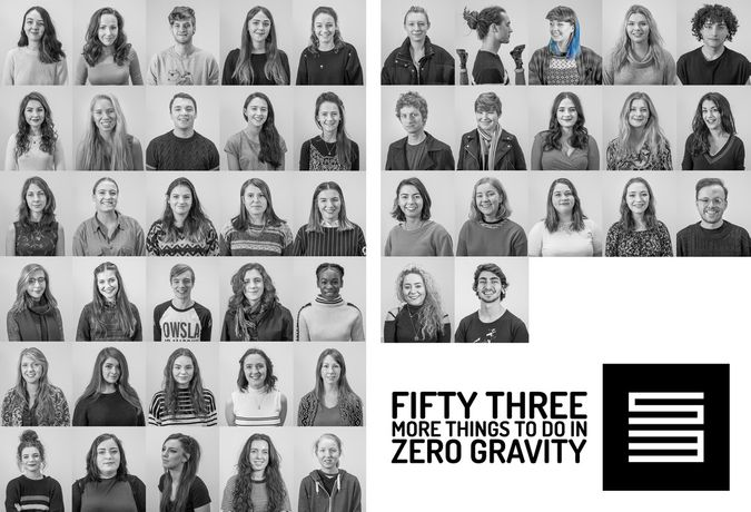 Fifty Three More Things to do in Zero Gravity. Degree 2017: Image 2