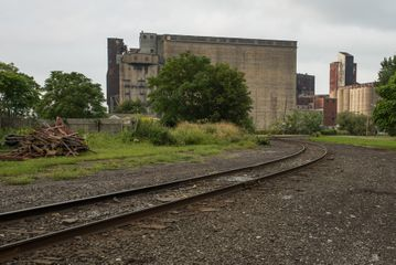 Wrong Side of the Tracks, First Ward, Buffalo, New York