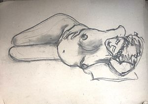 Figure Drawing Workshop.     Instructor, Lynne Margaret Brown