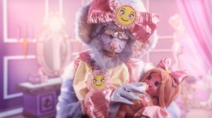 Feed Me, Rachel Maclean, 2015. Image courtesy of FVU