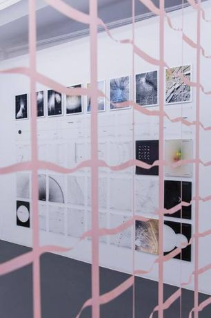 Installation view from fragmentedfragmentfragments, Pi Artworks Istanbul