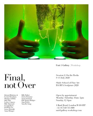 Final, not Over - Session 2: On the Rocks Poster