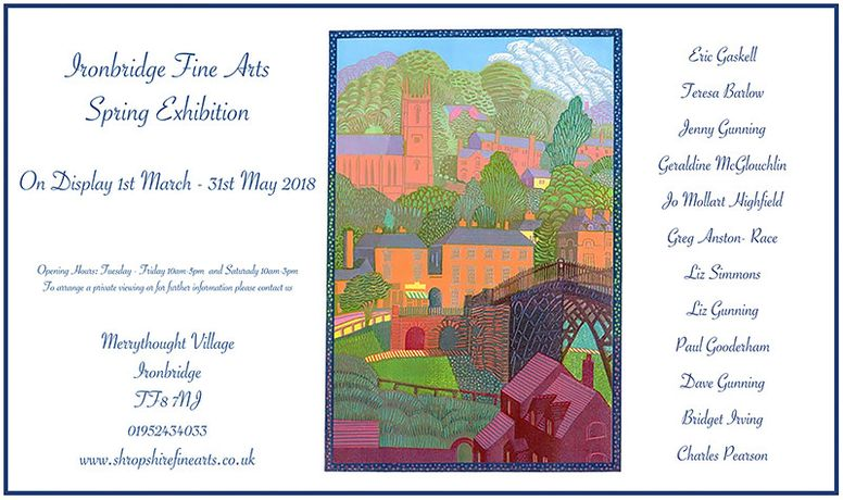 Ironbridge Fine Arts - Spring Exhibition featuring Eric Gaskell and Theresa Barlow