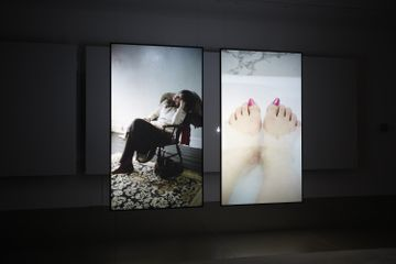 Fiona Tan, Rise and Fall, 2009 Installationsansicht / installation view Aargauer Kunsthaus, 2010 Foto/photo: David Aebi
