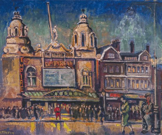Hackney Empire, Courtesy the artist's family © A.E.Turpin Estate, 2017