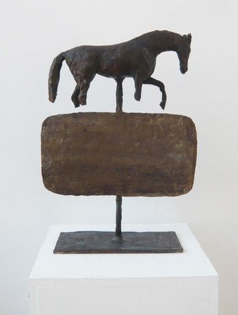 Five Symbolic Images: Bronze and Plaster Sculptures by Christopher Le Brun: Image 0