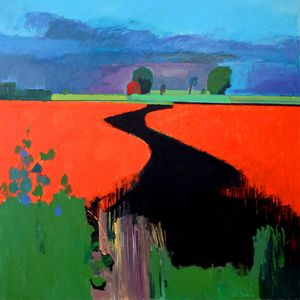 Flat Earth | Paintings by Fred Ingrams