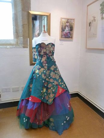 Ball gown by Gillian Collins