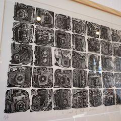 Neil Bousfield- Highly commended for excellence in printmaking.