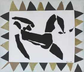 Reclining Figure 1966 by Harry Thubron