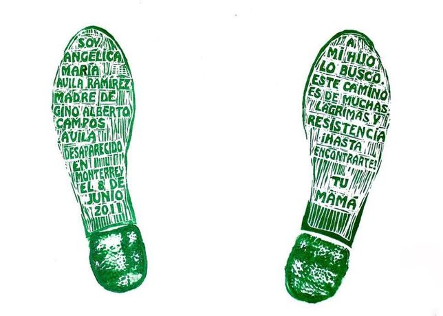 Footprints Of Memory - Forced Disappearance in Mexico and worldwide: Image 1