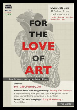 For the Love of Art: Valentines Card-making workshop