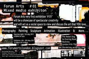 FORUM ARTS # 01 - MIXED MEDIA EXHIBITON