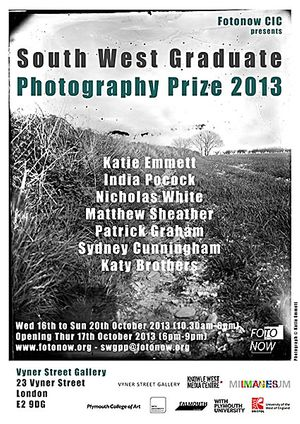 Fotonow South West Graduate Photography Prize 2013