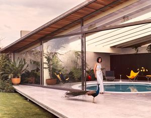 Francisco Artigas and Fernando Luna. House at 131 Rocas, Jardines del Pedregal, Mexico City , 1966. Photo by Roberto and Fernando Luna, 1966. © Roberto and Fernando Luna