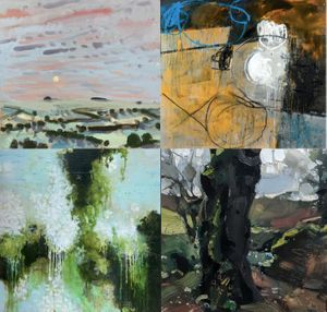 Four Contemporary Landscape Painters