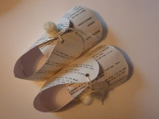 Paper Shoes, Angel by Vivienne Sole