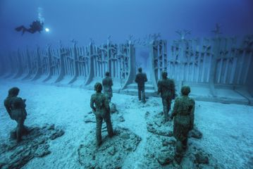 Jason DeCaires Taylor - Cact Lanzarote Spain