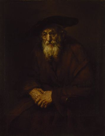 Rembrandt Harmensz. van Rijn 1606, Leiden – 1669, Amsterdam Portrait of an Old Man Oil on canvas, 109 x 85 cm  The State Hermitage Museum, St Petersburg