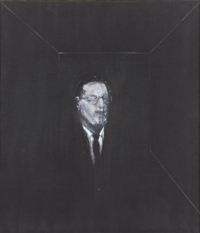 Francis Bacon Portrait of R.J. Sainsbury 1955 Oil on canvas; 115 x 99 cm Sainsbury Centre for Visual Arts © The Estate of Francis Bacon. All rights reserved, DACS 2014. Photo: Prudence Cuming Associates Ltd