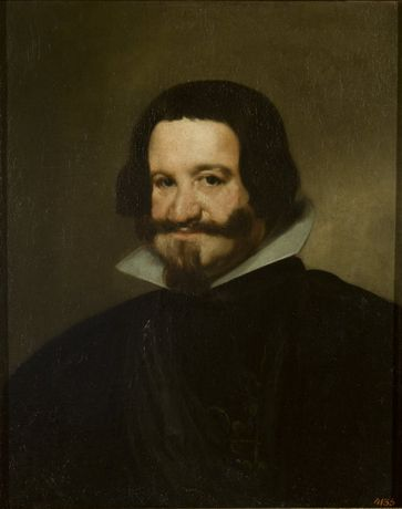 Diego Velázquez Portrait of the Count Duke of Olivares, c. 1638 Oil on Canvas, 67 x 54.5cm The State Hermitage Museum, St Petersburg, Russia