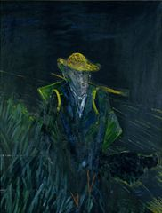 Francis Bacon Study for a Portrait of Van Gogh I 1956 Oil on canvas; 154.1 x 115.6 cm Robert and Lisa Sainsbury Collection © The Estate of Francis Bacon. All rights reserved. DACS 2014. Photo: Prudence Cuming Associates Ltd