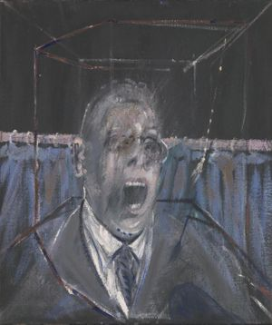 Francis Bacon Study for a Portrait 1952