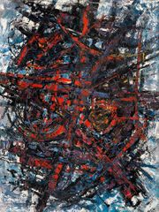 Frank Avray Wilson, Exaltaion, c.1960, oil on board
