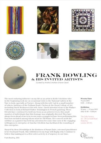 FRANK BOWLING AND HIS INVITED FRIENDS: Image 0