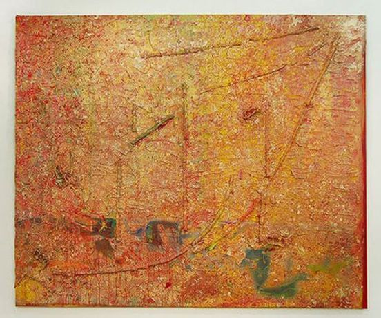 Frank Bowling: Enter The Dragon: Image 0