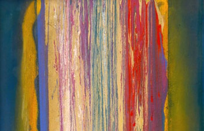 Frank Bowling - Poured Paintings: Image 0