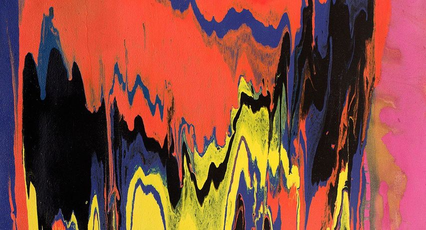 Frank Bowling. The Poured Paintings: Image 0