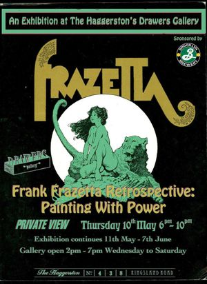 Frank Frazetta - A Retrospective: Painting with Power