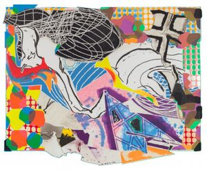 Frank Stella | Selected Prints from the Moby Dick Series