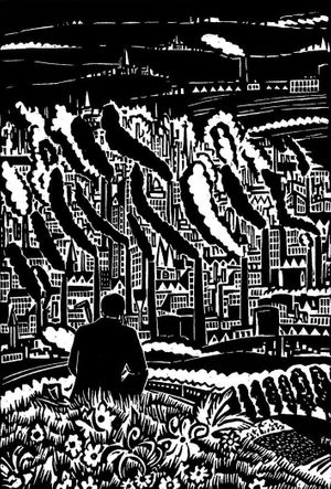 Frans Masereel. The City