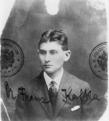 Passport photograph, Kafka about 32 years old, 1915/16 © Archiv Klaus Wagenbach