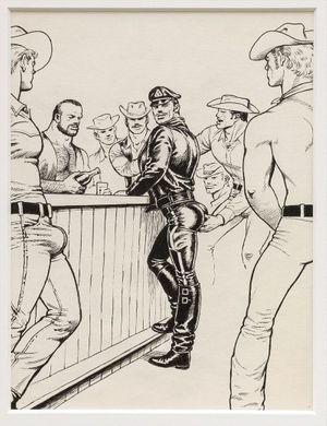 Fred Eversley / Lucy Bull / Tom of Finland