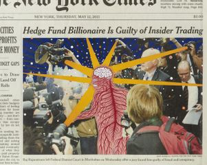 Fred Tomaselli. Paper