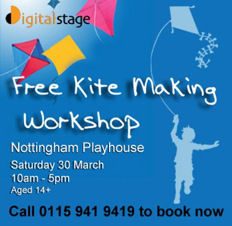 FREE Kite Making Workshop (14+): Image 0