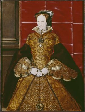 Portrait of Mary I, by Hans Eworth (c. 1554)