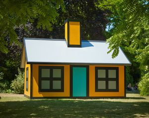 Richard Woods Holiday Home (Regent's Park) (2018) Alan Cristea Gallery