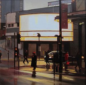 From Darkness Comes Light: Manchester Paintings from Michael John Ashcroft