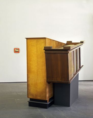 Reinhard Mucha, 'Hagen–Vorhalle', 1983, mixed media