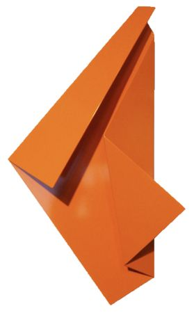 Betty Gold, Primarily Sante Fe V, 25 x 15 x 4 inches, steel sculpture